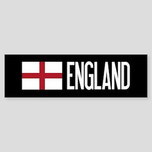England: English Flag & England Sticker (Bumper)