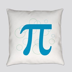 Pi Circles Everyday Pillow