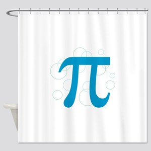 Pi Circles Shower Curtain
