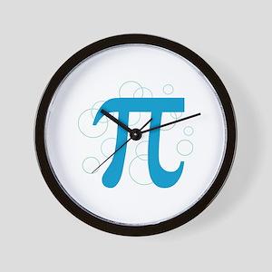 Pi Circles Wall Clock