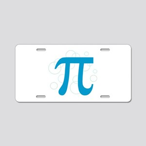 Pi Circles Aluminum License Plate