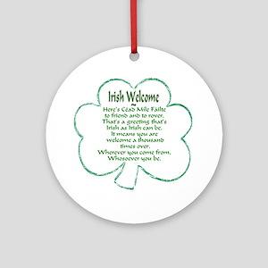 Irish Keepsake (Round)