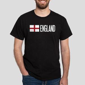 England: English Flag & England Dark T-Shirt