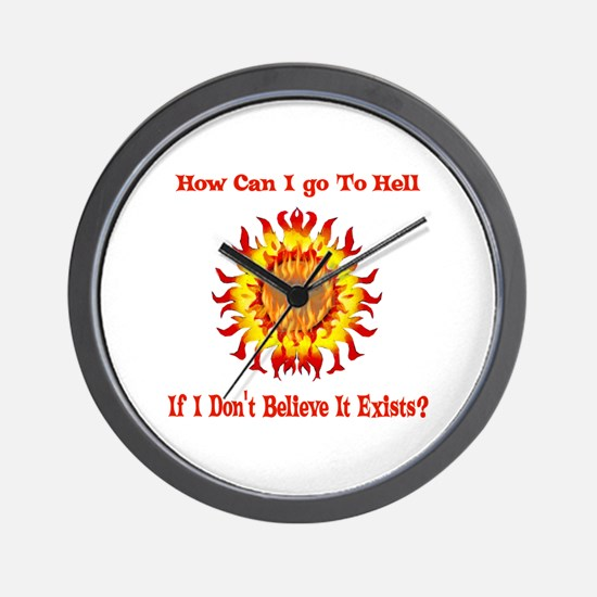 Not Going To Hell Wall Clock