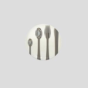 Metal Cutlery Set Mini Button