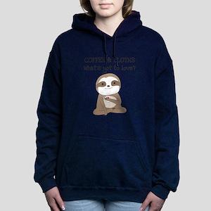 Coffee and Sloth Sweatshirt