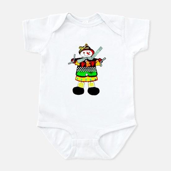 Scarecrow Man  Infant Bodysuit
