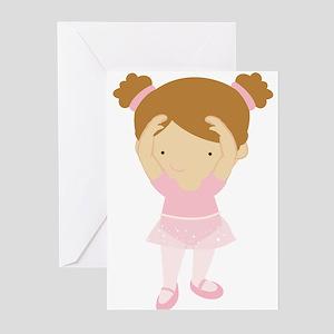 ZWD_BalletGirl02a Greeting Cards
