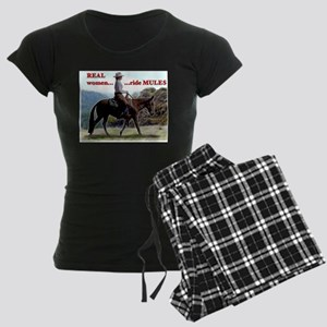 Real Women Ride Mules Pajamas