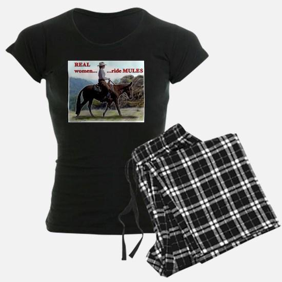 Real Women Ride Mules Pajamas