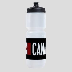 Canada: Canadian Flag & Canada Sports Bottle