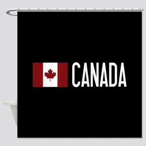 Canada: Canadian Flag & Canada Shower Curtain