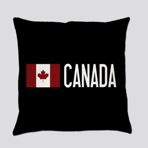 Canada: Canadian Flag & Canada Everyday Pillow