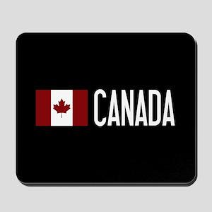 Canada: Canadian Flag & Canada Mousepad