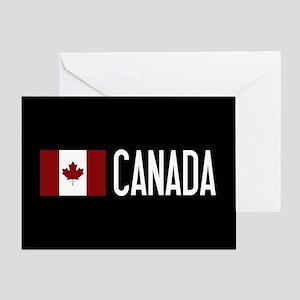 Canada: Canadian Flag & Canada Greeting Card