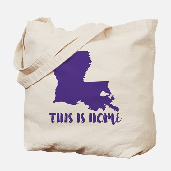 Louisiana - This Is Home Tote Bag