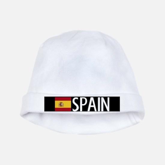 Spain: Spanish Flag & Spain baby hat