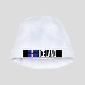 Iceland: Icelandic Flag & Iceland baby hat