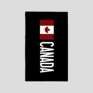 Canada: Canadian Flag & Canada Area Rug