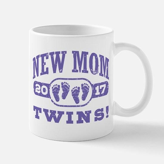 New Mom Twins 2017 Mug