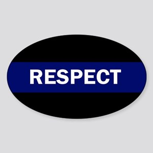 RESPECT BLUE Sticker