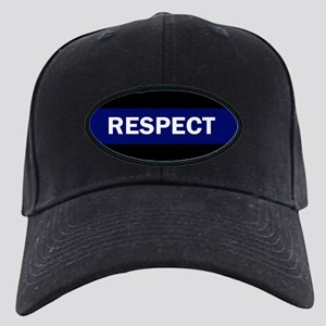 RESPECT BLUE Black Cap