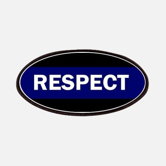 RESPECT BLUE Patch