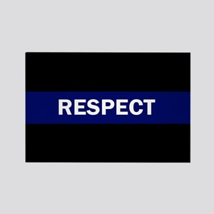 RESPECT BLUE Magnets