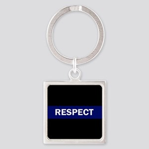 RESPECT BLUE Keychains