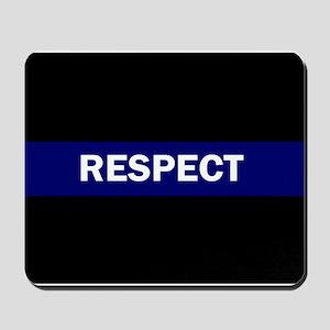 RESPECT BLUE Mousepad