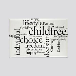 The Childfree Choice Logo Magnets