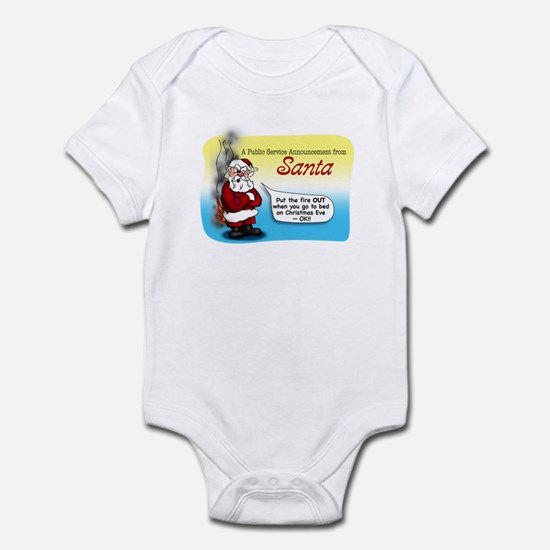 Santa's PSA Infant Bodysuit
