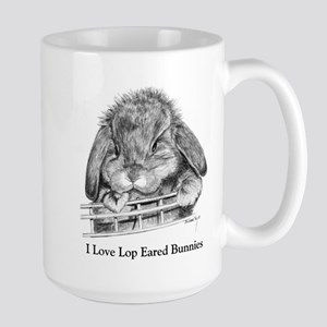 Lop Eared Bunny Stainless Steel Travel Mugs