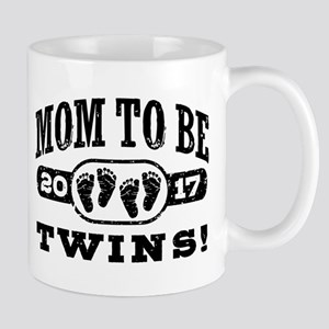 Mom To Be Twins 2017 Mug