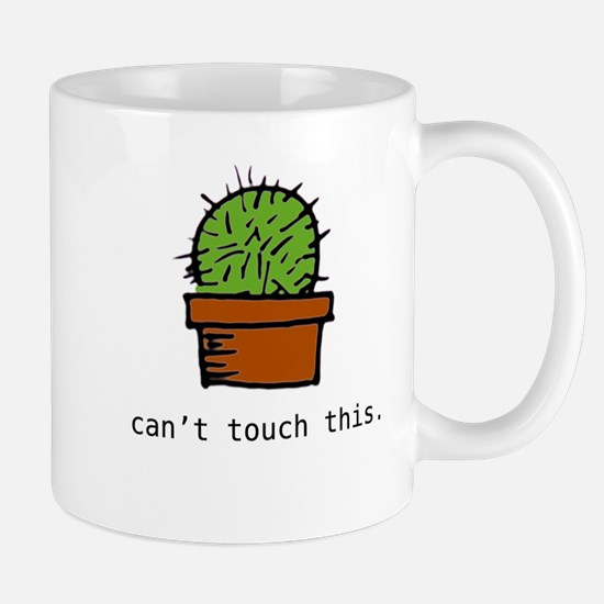 can't touch this regular sized mug