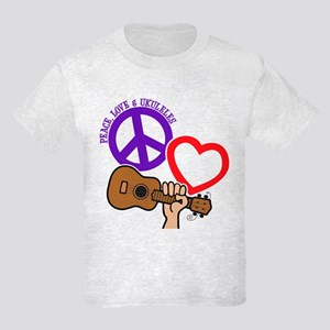 P, L, UKULELES Kids Light T-Shirt