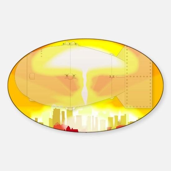 Hydrogen Bomb Blast Decal