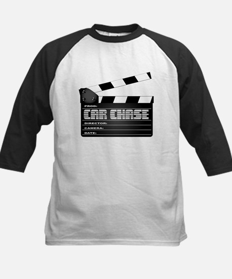 Car Chase Clapperboard Baseball Jersey