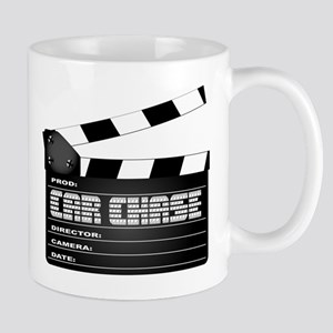 Car Chase Clapperboard Mugs