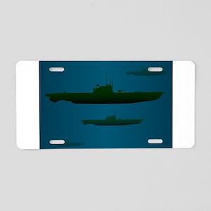 U Boat Wolf Pack Aluminum License Plate