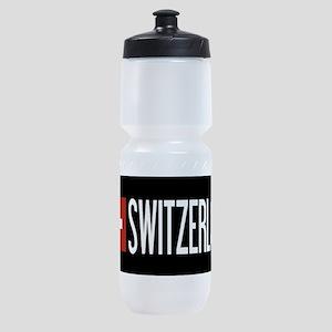 Switzerland: Swiss Flag & Switzerlan Sports Bottle