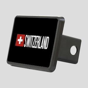 Switzerland: Swiss Flag & Rectangular Hitch Cover