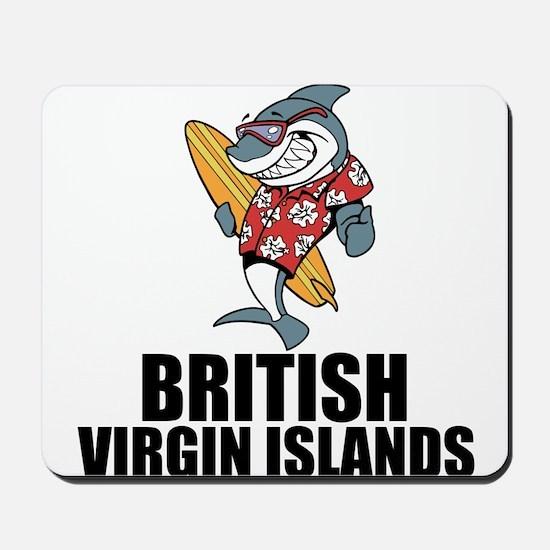 British Virgin Islands Mousepad