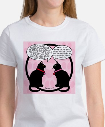 CAT CHAT 4-V DAY T-Shirt