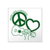 Peace love music Square