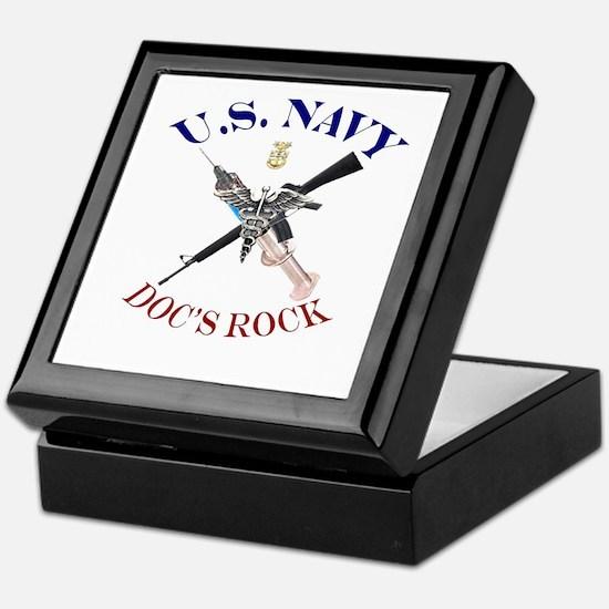 Cool Corpsman Keepsake Box