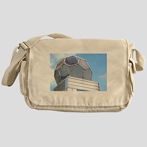 football sculpture Messenger Bag