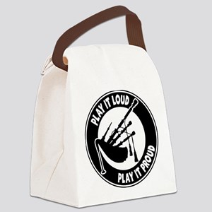 PLAY PROUD Canvas Lunch Bag