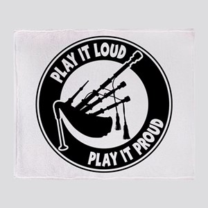 PLAY PROUD Throw Blanket