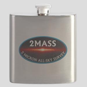 2MASS Original Logo Flask